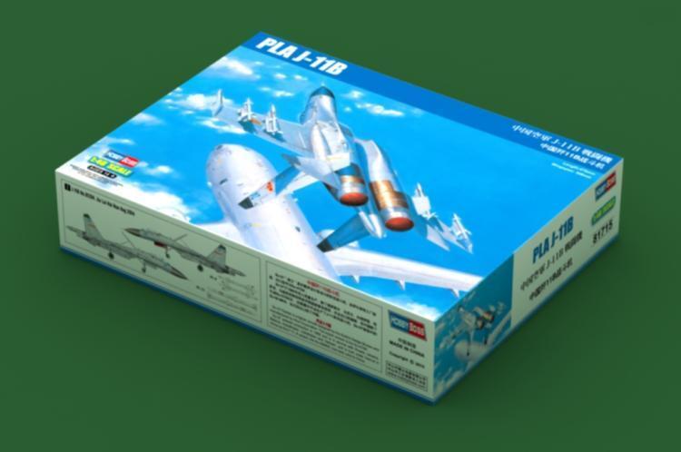 Hobbyboss 1 48 81715 PLA J-11B