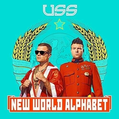 USS (UBIQUITOUS SYNERGY SEEKER) - NEW WORLD ALPHABET   CD NEW!
