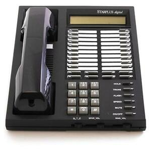 Fully Refurbished Vodavi Starplus Digital SP-1414-71 Executive Phone (Charcoal)