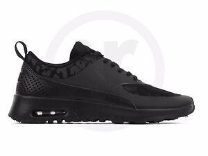 061a5a5397 Nike Air Max Thea PRM 3M Reflective Black 616723-001 Wmn Sz 11 | eBay