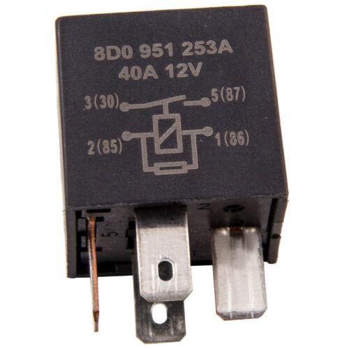 1x Relais 12V//40A für VW AUDI 373 8D0 951 253A V23134-B52-X301 12 V-//76 Ω ZJPDV