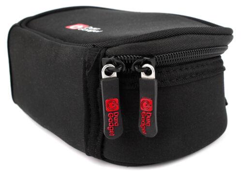 Black Neoprene Lightweight Case for Sony HDR-PJ200EDCR-SX22E Camcorders