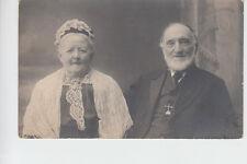 Grandpa & Grandma, Leesfield House, Lees, Oldham? 1914. Dedicated to Louie