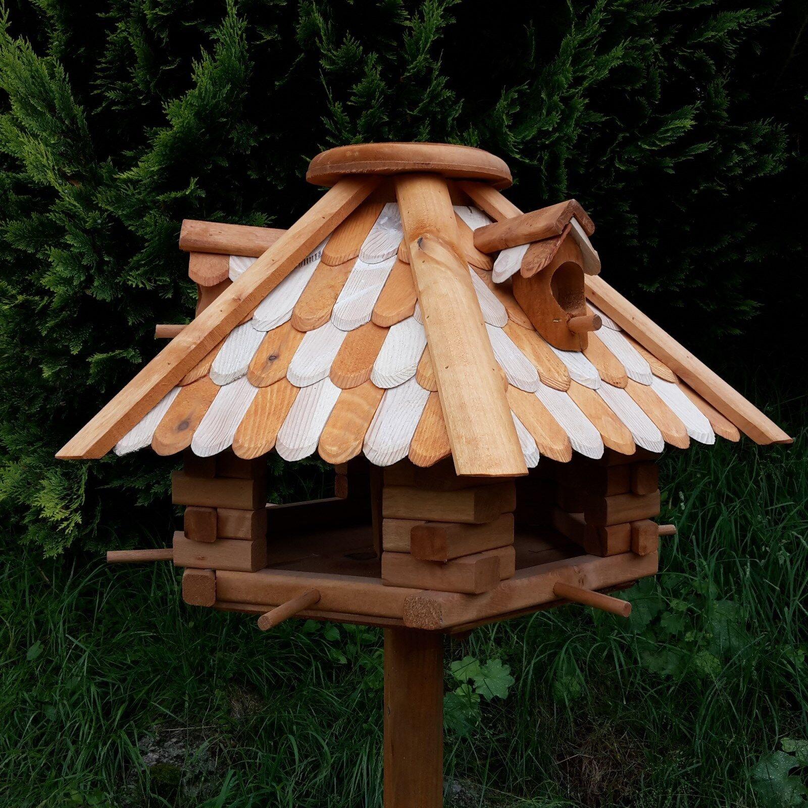 Großes Luxus Vogelhaus Top-Qualität XXL Holz Vogelfutterhaus Vogelhäuschen NN | Reichlich Und Pünktliche Lieferung  | Vorzugspreis  | Spielzeugwelt, spielen Sie Ihre eigene Welt