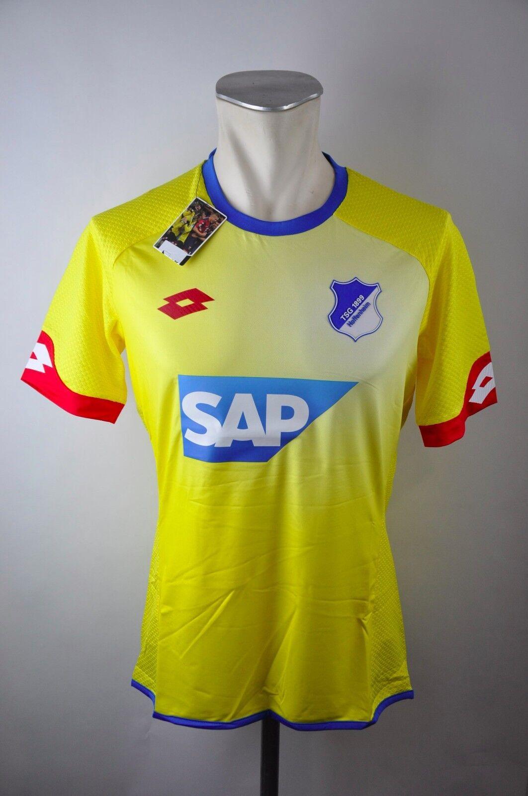 Hoffenheim Trikot TSG 1899 Lotto Neu M M M L XL XXL SAP 2015-2016 Jersey Away Gelb e3df81