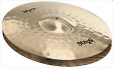 "NEW Stagg 14"" Myra Bite (Sound Edge) Hi Hats // Free Shipping"