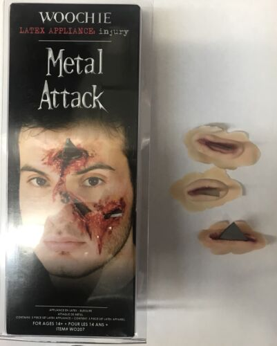 Woochie Metal Attack Latex Prosthetic Wound WO207