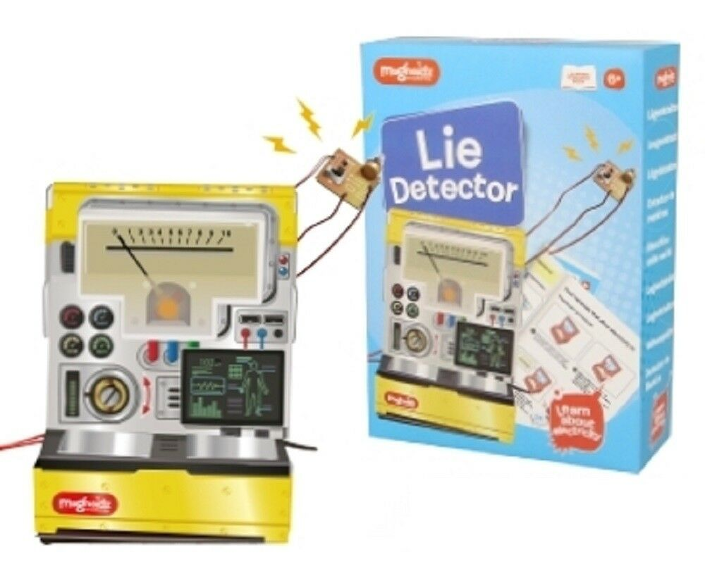 LIE DETECTOR SCIENCE KIT - SC235 FUN EDUCATIONAL TRUTH GAME TOY