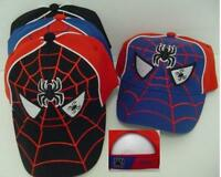 Spider Web Baseball Cap Toddler Boys Childrens Spider Eyes Hat W Web