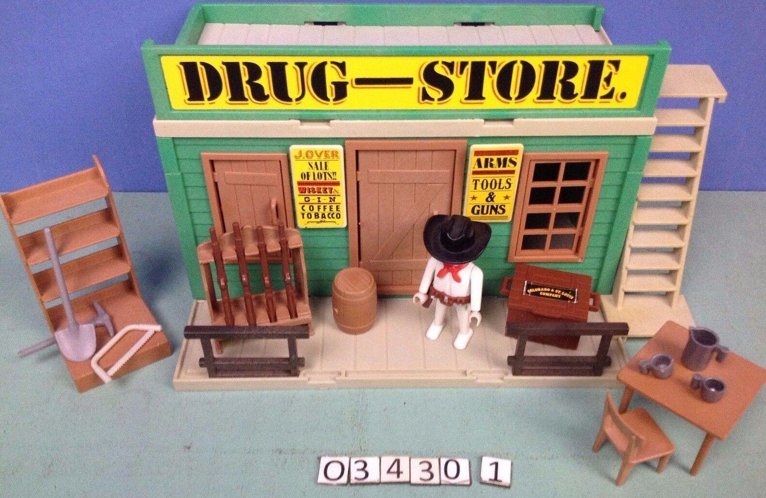 (O3462.1) playmobil maison western Drug Store ref 3462  3424  con il prezzo economico per ottenere la migliore marca