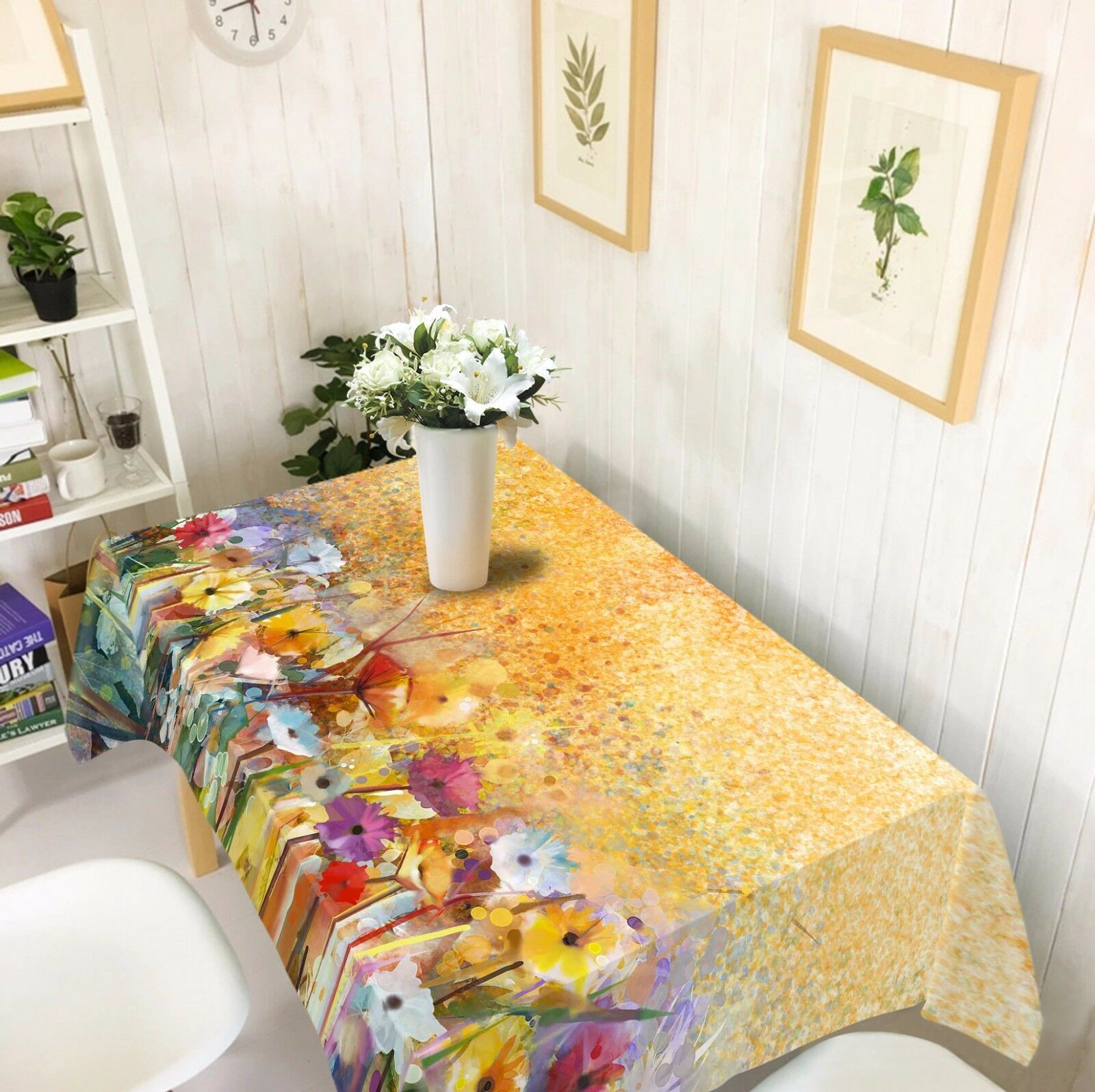 3D Flowers 807 Tablecloth Table Cover Cloth Birthday Party Event AJ WALLPAPER AU