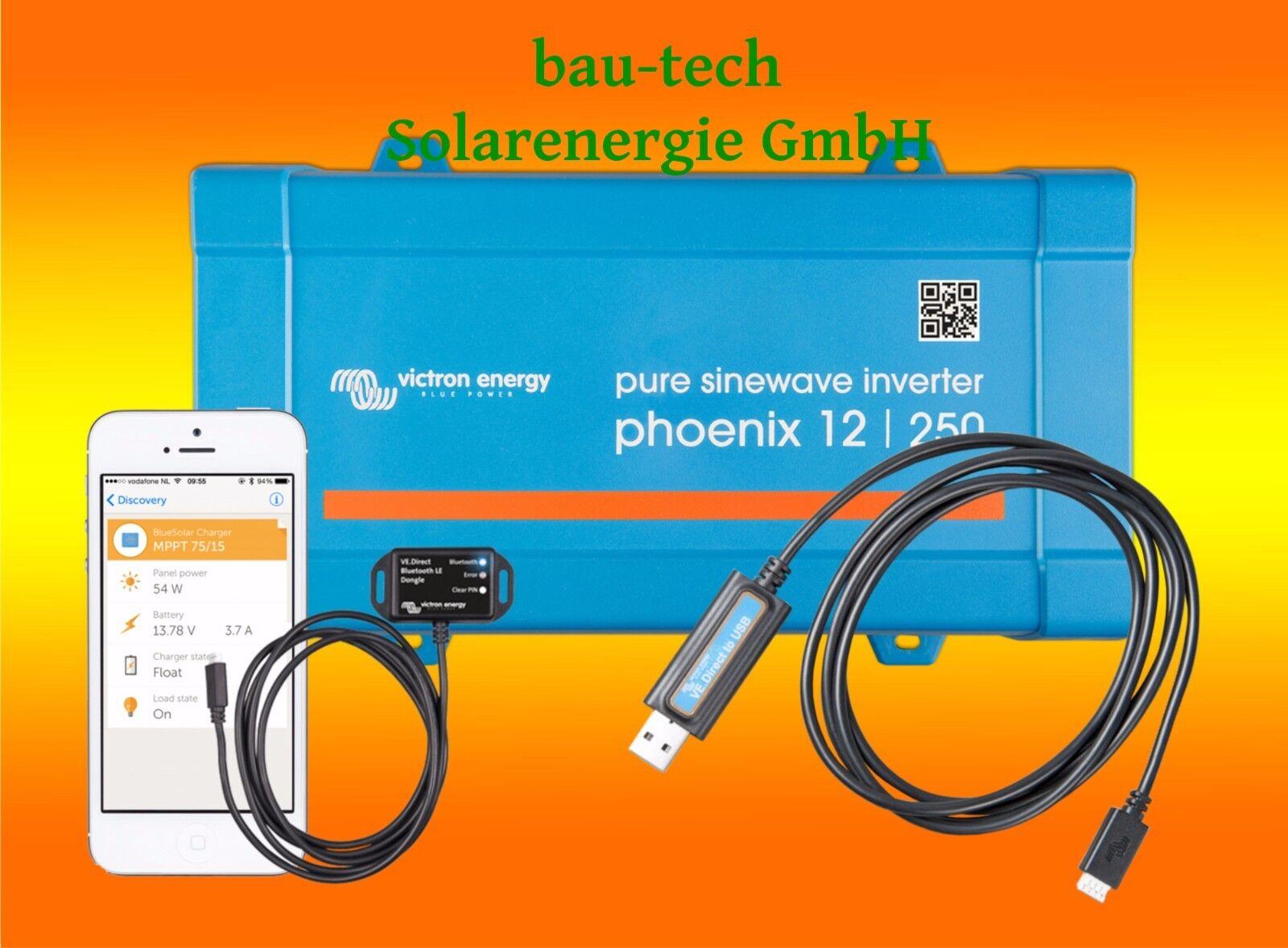 Victron Phoenix Sinus Spannungswandler 12V 24V 48V 230V Wechselrichter VE.Direct