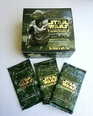 New! Decipher Star Wars CCG Cloud City Expansion booster pack