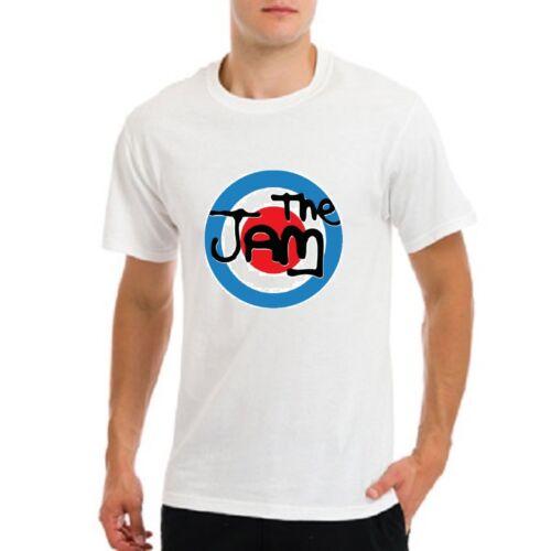 mod Music Group Band T-shirt blanc La confiture