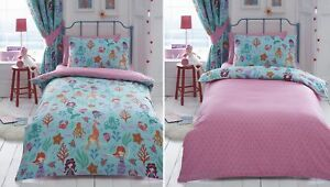 Attrayant Image Is Loading Mermaid Kids Girls Duvet Quilt Cover Bedding Bed