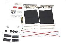 For Harley HD Hard  Saddlebags, Hardware Latch Kit Set Touring Models Road King