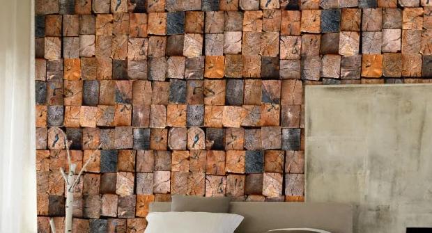 3D Square Wood Heap 84 Wall Paper Murals Wall Print Wall Wallpaper Mural AU Kyra