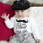Newborn Toddler Baby Girls Boy Cotton Romper Jumpsuit Bodysuit Clothes Outfits