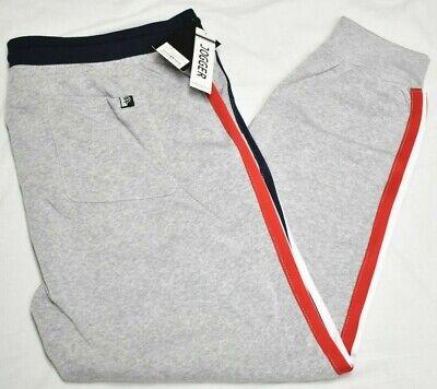 Rocawear Jogger Pants Men Monarchy Fleece Side Taped Sweatpants Grey Urban P369