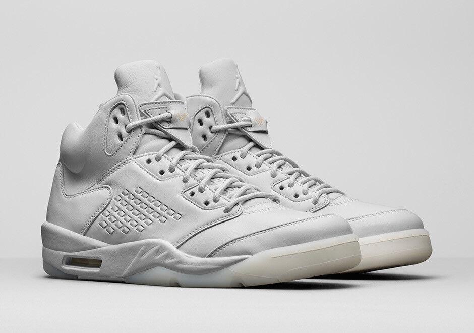 Nike Air Jordan v 5 Premium talla blanco.PRM 10 .Tomar vuelo 881432-003.Gris blanco.PRM talla el mas popular de zapatos para hombres y mujeres b79a14