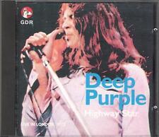 "DEEP PURPLE - RARO CD ITALY ONLY PROMO 1989 "" HIGHWAY STAR """