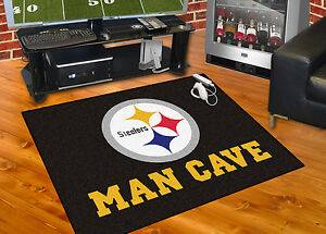 Pittsburgh Steelers Man Cave 34 Quot X43 Quot All Star Area Rug Mat
