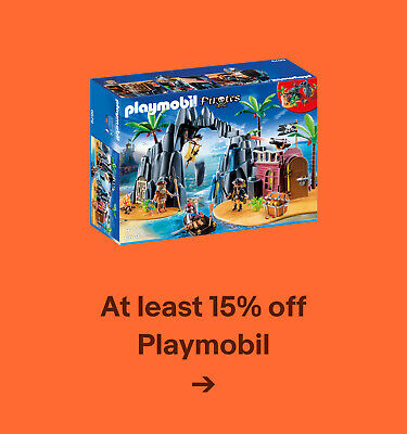 At least 15% off Playmobil
