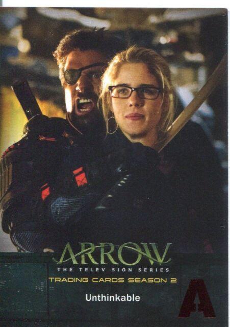 Arrow Season 2 Red Foil Parallel Base Card #68 Unthinkable