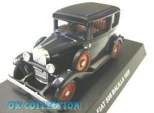 1:43 modellino FIAT 508 BALILLA 1932 /_ 08