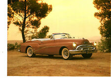 1953 BUICK SKYLARK CONVERTIBLE  ~  GREAT BOOK PHOTO / PICTURE / AD
