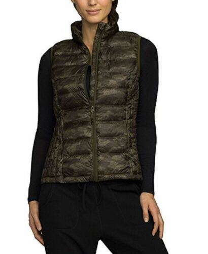 32 Degrees Heat Weatherproof Womens/' Packable Puffer West Size S Army Camo