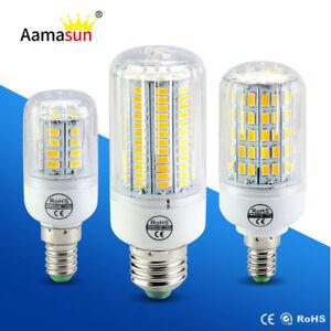 E27-E14-24-30-42-64-80-LED-Light-Bulb-Smart-IC-Power-5730-SMD-Corn-Lamp-220V110V