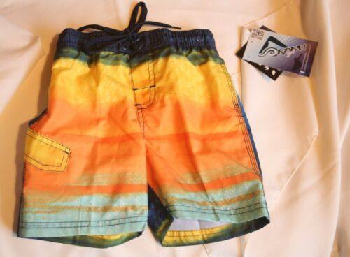 NWT Kanu Boy/'s board shorts// trunks size 4T