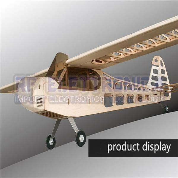Balsawood J-3 J3 Laser Cut 1180mm Wingspan Glazing Ang Cowl RC Airplane KIT V2