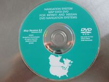 2002 2003 2004 2005  2006 INFINITI NISSAN NAVIGATION DVD VERSION 6.2  DVD OEM