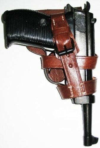 1x Walther P1 or P38 Pistol Holster ParaTrooper Skelton Fallschirmjäger
