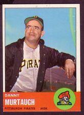 1963 TOPPS DANNY MURTAUGH CARD NO:559 DM24 NEAR MINTCONDITION