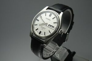 OH-Vintage-1968-JAPAN-SEIKO-LORD-MATIC-WEEKDATER-5606-7030-25Jewels-Automatic