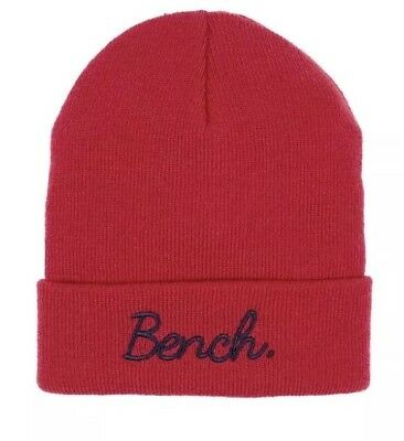 2019 Nuovo Stile Alza Bench Ricamato Cappello Beanie Taglia M-l Bnwt Rrp £ 12-mostra Il Titolo Originale Piacevole Al Palato