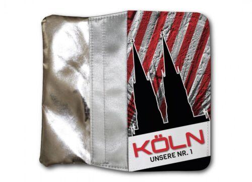 Damen Tasche SILBER Portemonnaie Köln