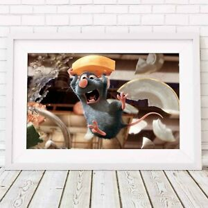 Disney Pixar Poster Picture Print Sizes A5 to A0 **FREE DELIVERY** RATATOUILLE