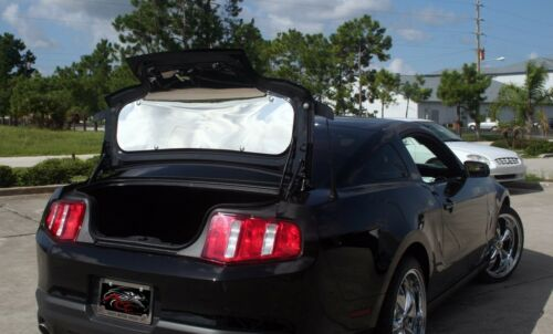 271023 ACC Mustang Trunk Panel Polished 2010-2012
