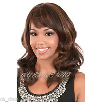 Motown Tress Human Blended Hair Wig - Hb August