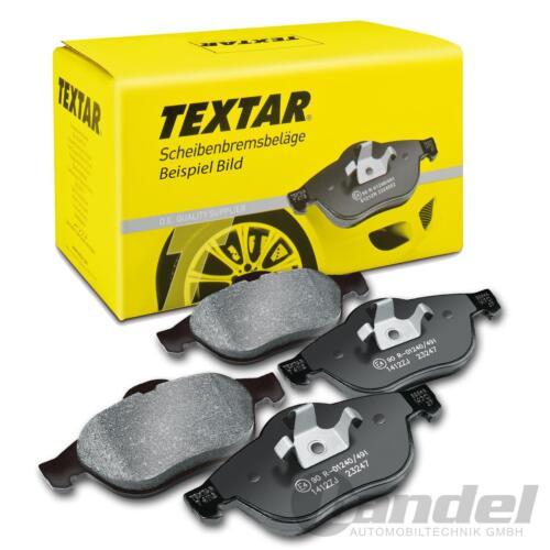 OPEL ASTRA signum vectra Textar plaquettes de freins FIAT CROMA saab 9-3 frein
