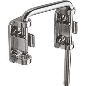 Sliding Door Latch Loop Lock Bar Hook Bolt Safety Security