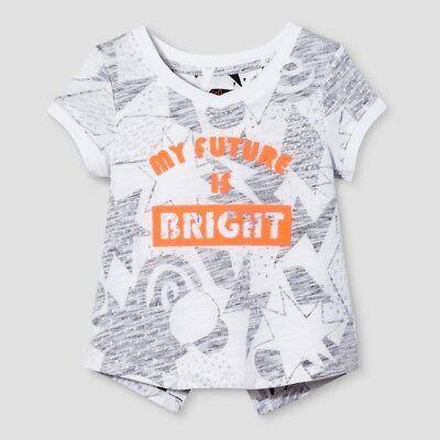 "Cat /& Jack Toddler Girls /""Future Legend/"" Short Sleeve T-Shirt Nightfall Blue"