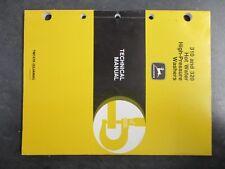 John Deere 310 320 Hot Water High Pressure Washers Technical Manual