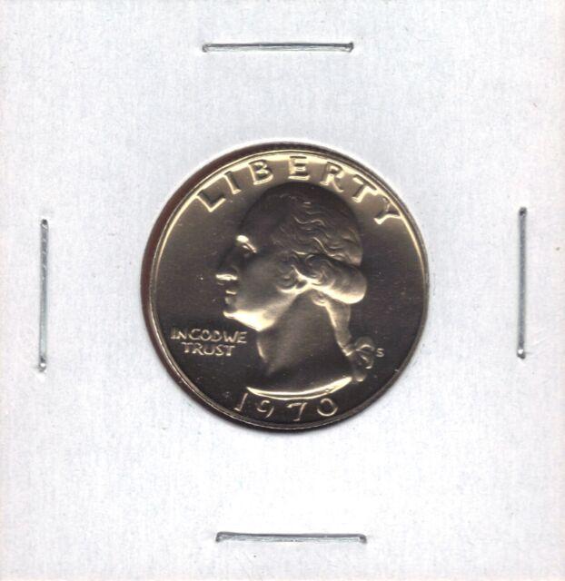 1970-S PROOF WASHINGTON QUARTER