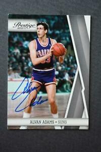 Phoenix Suns Star Alvan Adams signed/autographed 2010 Panini basketball card!