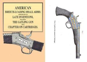 Details about American Breech-Loading Small Arms 1872, Gatling Gun,  Cartridges